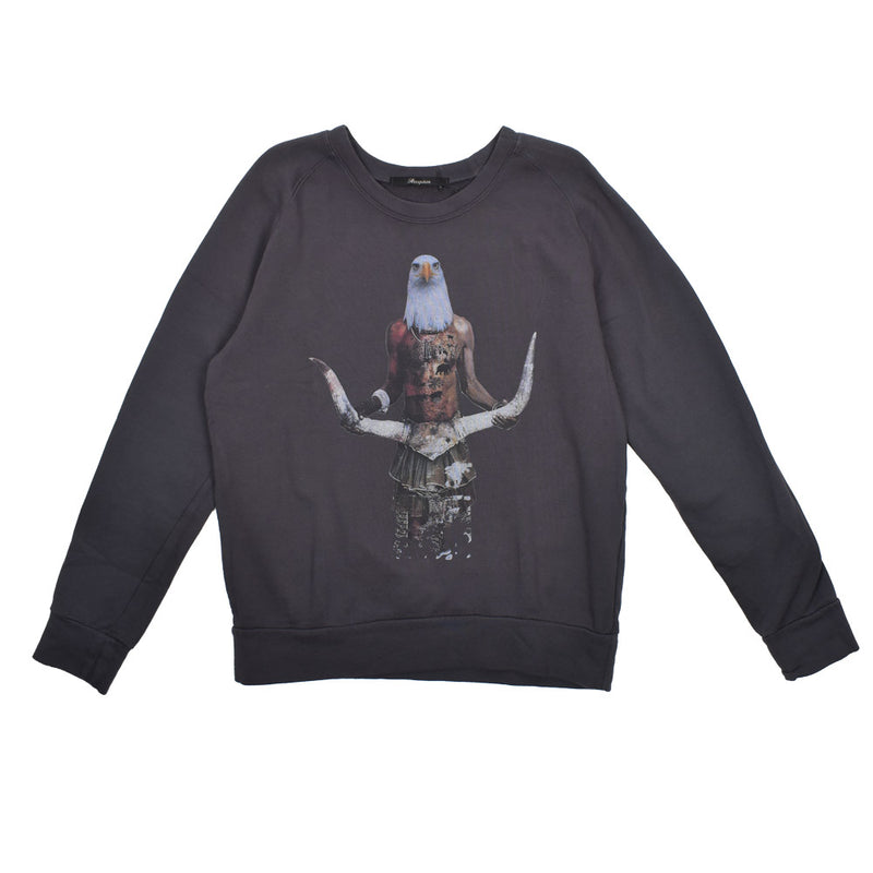 Reception Eagle Graphic Sweatshirt -WH - Georgios Clothing Store