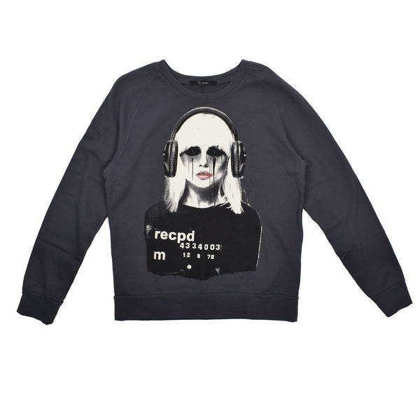 Reception DJ Graphic Sweatshirt -WH