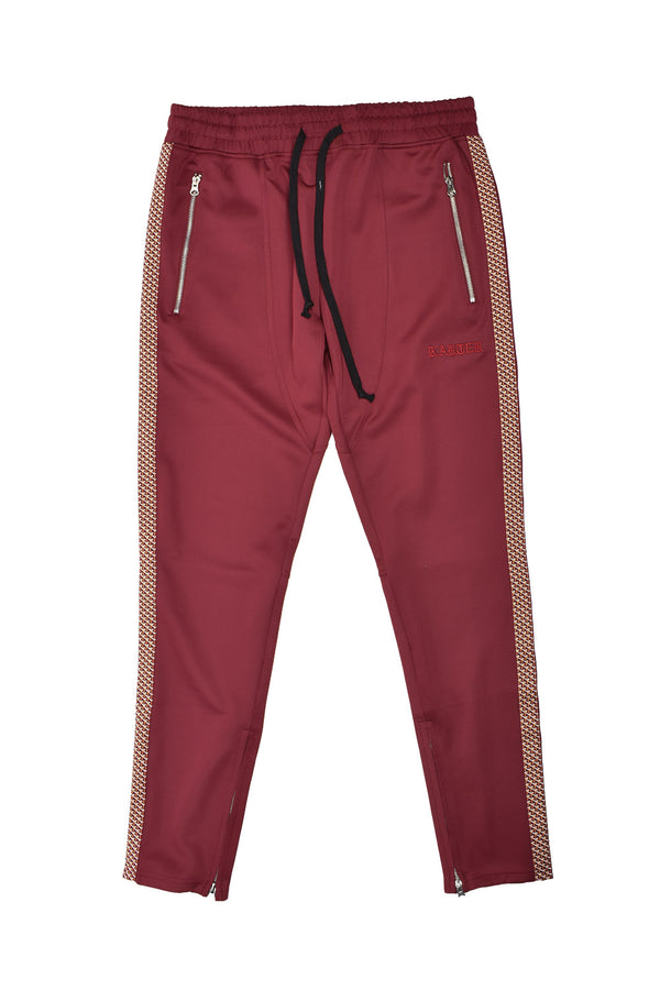 Karter Collection Track Pants KRTRFA18-2 -WH