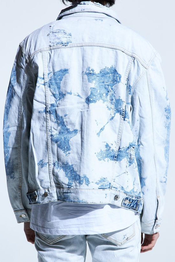 Embellish Horizon Denim Jacket EMBSP219-203 - Georgios Clothing Store