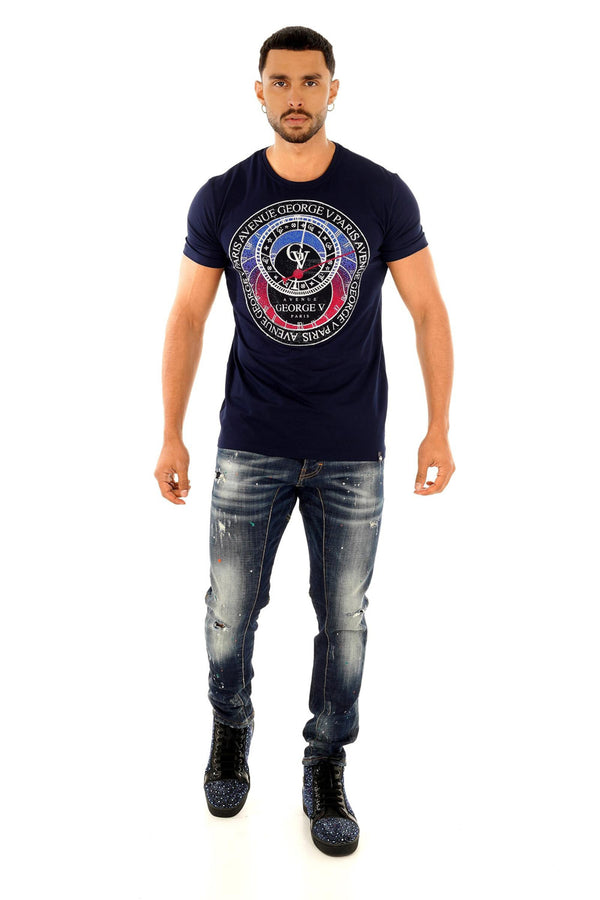 GEORGE V T-SHIRT GV2215 - Georgios Clothing Store