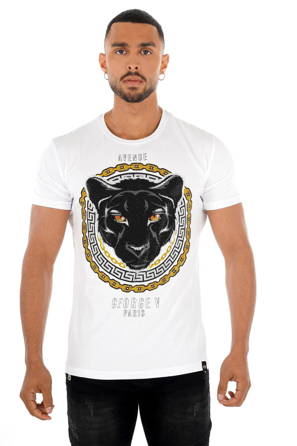 GEORGE V T-SHIRT GV2219 - Georgios Clothing Store