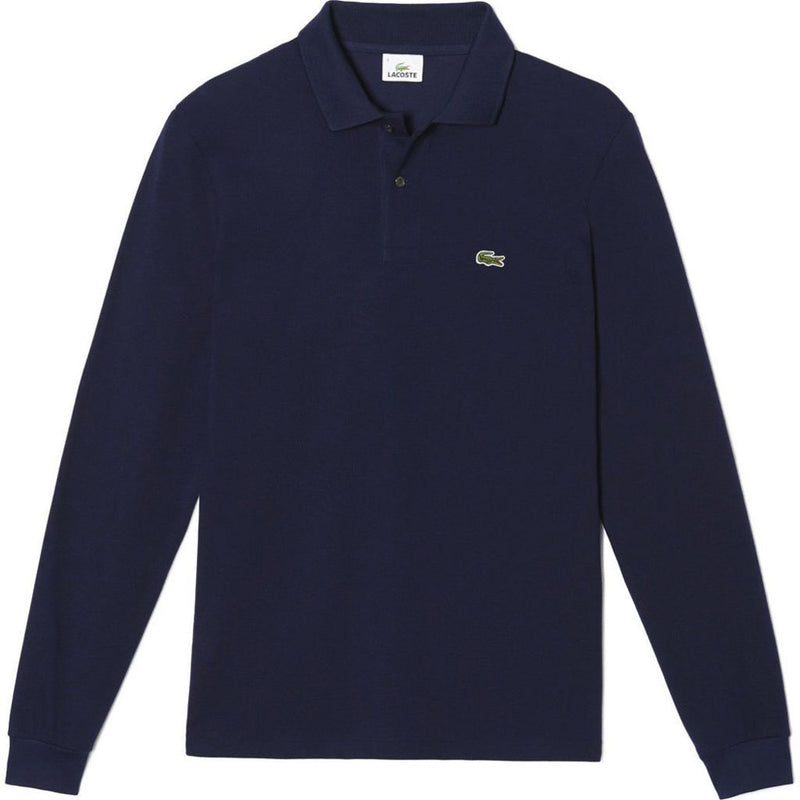 Lacoste Long Sleeve Polo Shirt PH312L51-WH - Georgios Clothing Store