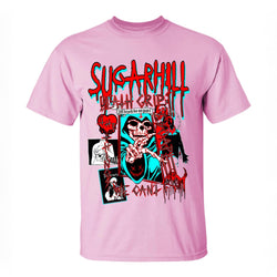 SUGAR HILL T-SHIRT SH-APRQS-14 - Georgios Clothing Store