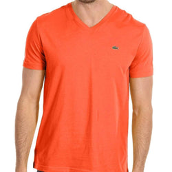 Lacoste V-Neck T-Shirt TH6131-51-WH - Georgios Clothing Store