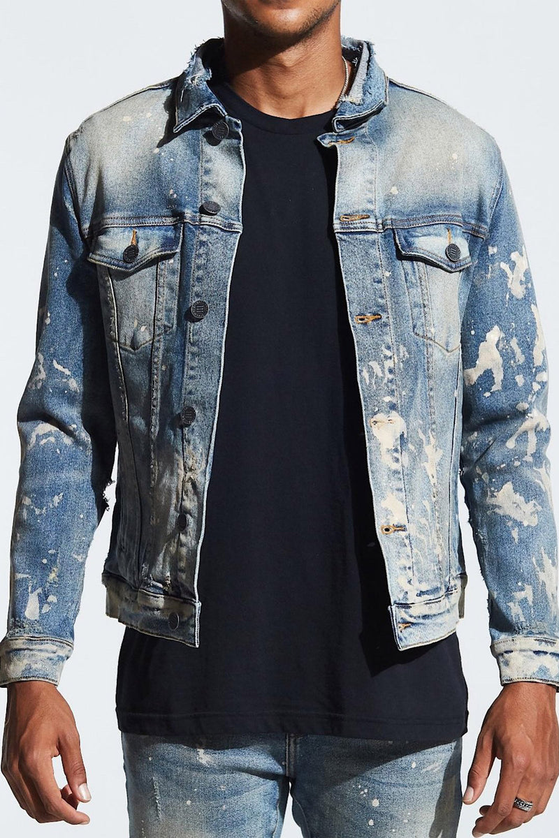Embellish Denim Jean Jacket EMBSP119-205 -WH