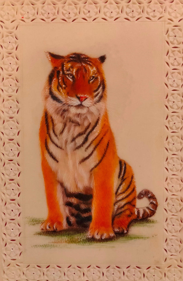 HandPainted TIger Animal Art Painting Collection