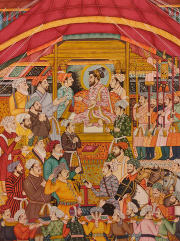 Mughal Miniature Painting of India