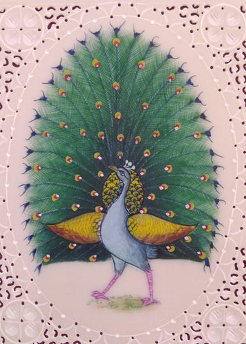 Peacock Bird Interior Home Decoration Painting
