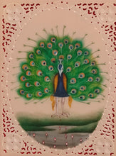 Load image into Gallery viewer, Peacock Bird Painting Artwork