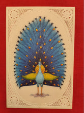 Load image into Gallery viewer, Hand Painted Peacock Bird Birds Miniature Painting India Art - ArtUdaipur