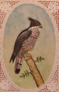 Eagle Painting Artwork Synthetic Ivory