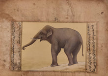 Load image into Gallery viewer, Elephant Old Paper Painting Artwork