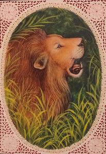 Lion Animal Painting Artwork