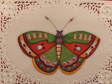 Load image into Gallery viewer, Exotic Butterfly Bird on Synthetic Ivory Painting Art - ArtUdaipur