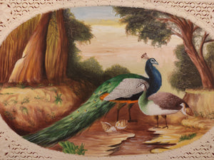 Peacock Painting Artwork Art Collection