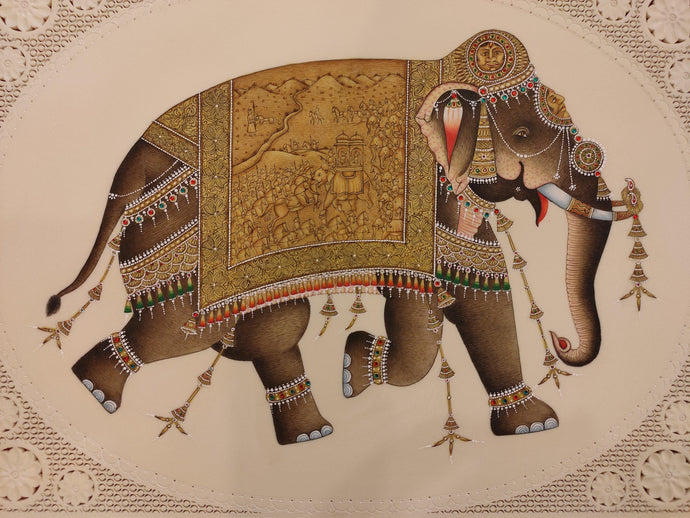 Elephant Animal Art Collection Painting Home Decor