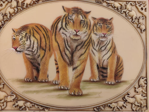 Tiger Animal Art Collection Interior