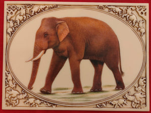 Hand Painted Elephant Horse Camel Miniature Painting India Art Carved - ArtUdaipur