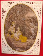 Load image into Gallery viewer, Famous Romantic Painting A Tale of Love Story Radha Krishna India - ArtUdaipur