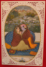 Load image into Gallery viewer, Art Udaipur Famous Romantic Painting Radha Krishna For Bed Room - ArtUdaipur