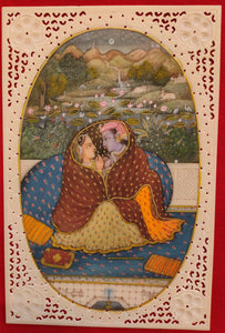 Art Udaipur Famous Romantic Painting Radha Krishna For Bed Room - ArtUdaipur