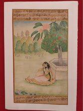 Load image into Gallery viewer, Handmade Indian Miniature Ragini Painting Paper Colors Art Traditional Exquistie - ArtUdaipur