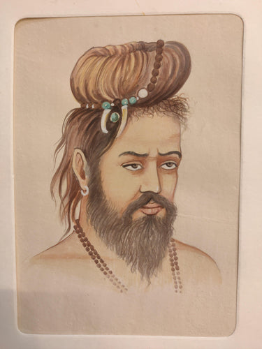 Sadhu Indian Painting Paper Collection
