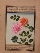 Load image into Gallery viewer, Beautiful Flower on Paper Art Collection Indian Miniature Painting - ArtUdaipur