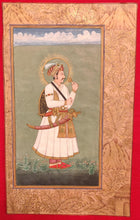 Load image into Gallery viewer, Mughal Maharajah Portrait Painting Artwork