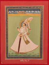 Load image into Gallery viewer, Hand Painted Rajasthani Maharajah King Portrait Miniature Painting India Art - ArtUdaipur