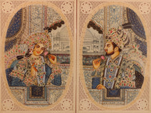 Load image into Gallery viewer, Shah Jahan and Mumtaz Love Story Artwork