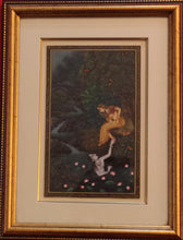 Load image into Gallery viewer, Krishna Radha Framed Painting Artwork