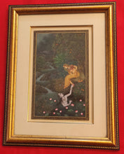 Load image into Gallery viewer, Lord Krishna Radha HandPainted Indian Miniature Painting - ArtUdaipur