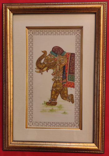 Elephant Framed Painting