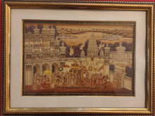 Load image into Gallery viewer, Udaipur City Rajasthani Framed Painting Artwork