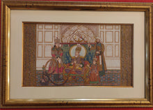 Load image into Gallery viewer, Framed Painting Artwork Mughal Maharajah