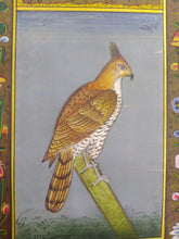 Load image into Gallery viewer, Courage Eagle Bird on Paper Indian Miniature Painting - ArtUdaipur
