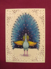 Load image into Gallery viewer, Beautiful Peacock Bird Indian Miniature Painting Art - ArtUdaipur