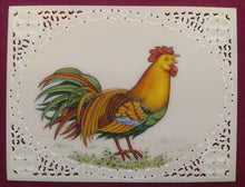 Load image into Gallery viewer, ColorFul Chicken Hen Miniature Painting India Art - ArtUdaipur