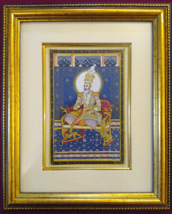 Mughal Maharajah Painting Artwork Indian