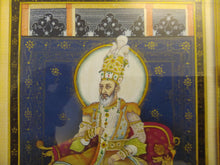 Load image into Gallery viewer, Hand Painted Mughal Mogul Bahadur Shah Zafar Detailed Miniature Painting Home Decor - ArtUdaipur