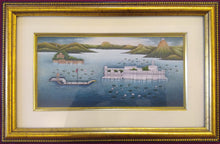 Load image into Gallery viewer, Udaipur City Framed Painting JagMandir Home Decor