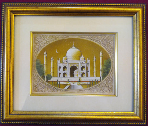 Taj Mahal Framed Artwork Collection