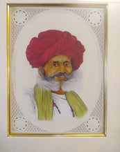 Load image into Gallery viewer, Hand Painted Old Village Men Portrait Detailed Miniature Painting Art Work Brush - ArtUdaipur