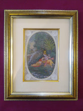 Load image into Gallery viewer, Painting For Home Wall Original Krishna Radha Framed Miniature - ArtUdaipur