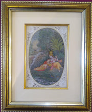 Load image into Gallery viewer, Krishna Radha Framed Painting Artwork Home Decor