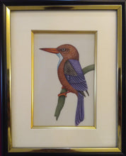 Load image into Gallery viewer, KingFisher Bird Painting Artwork