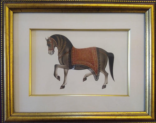 Horse Animal Painting Framed Artwork