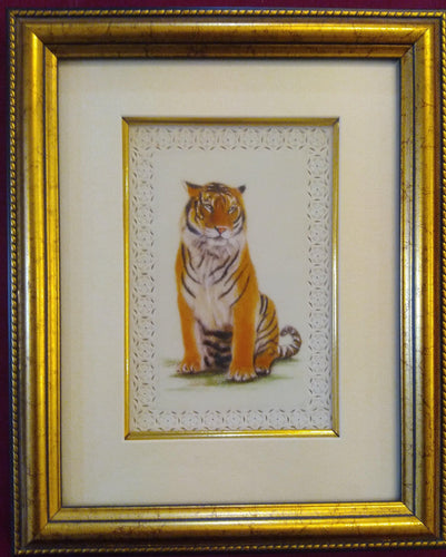 Tiger Painting Art Collection Animal Interior